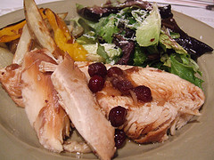Turkey Breast with Cranberry and Orange
