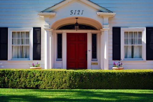 Red Door House the red door
