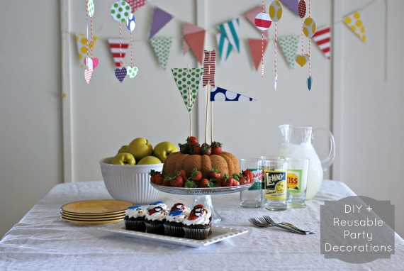 DIY and Reusable Party Decorations