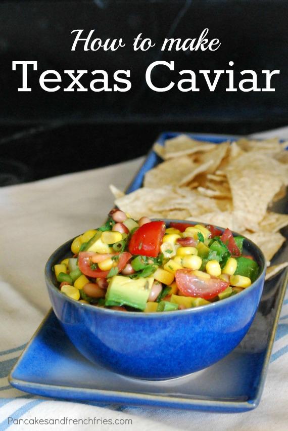 Texas Caviar via Pancakes & French Fries