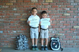 First Day of School, Boys