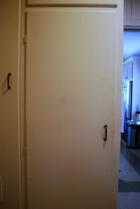 the broom closet is in the laundry room across from the washer and dryer thatu0027s not