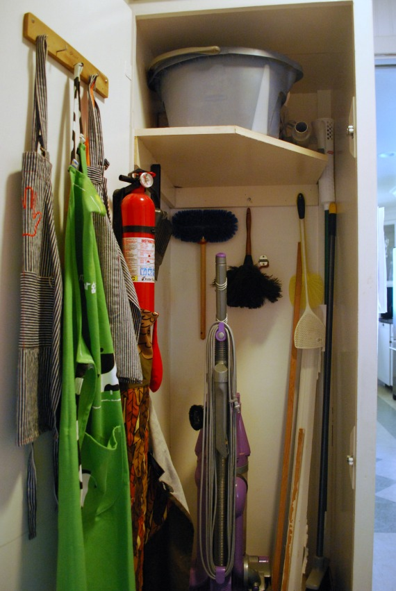 day 16 the broom closet. Black Bedroom Furniture Sets. Home Design Ideas