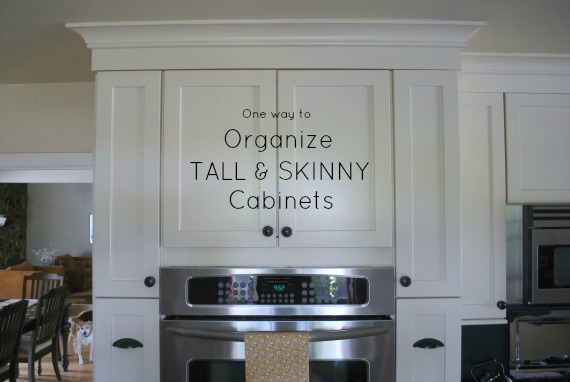 Day 9: Organize Tall and Skinny Kitchen Cabinets