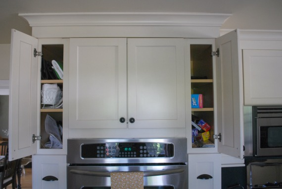 About. Day 9  Organize Tall and Skinny Kitchen Cabinets