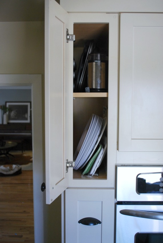 Organize Tall And Skinny Kitchen Cabinets