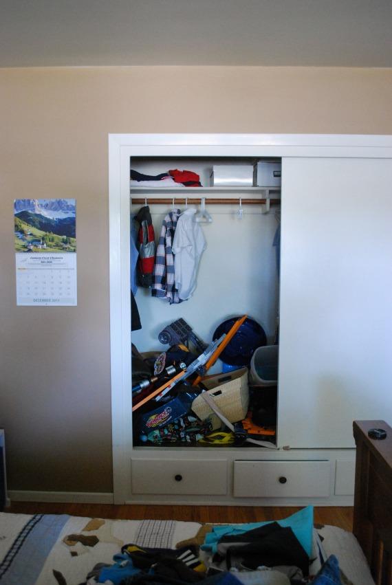 Mikey's Closet, 2