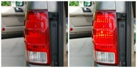 Tail Light Collage, 2