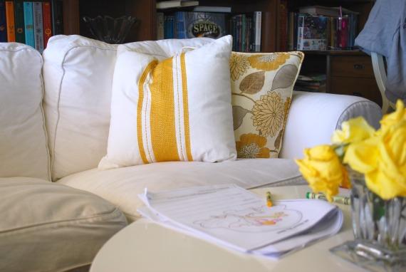 Family Room Pillows, 6