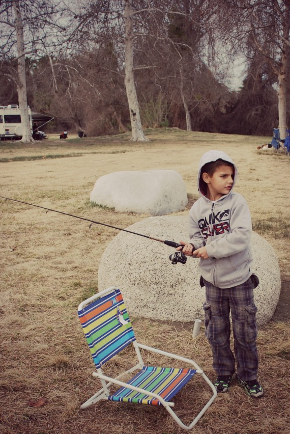 Mikey Fishing