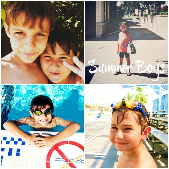 Swim Collage