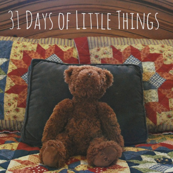 31 Days of Little Things