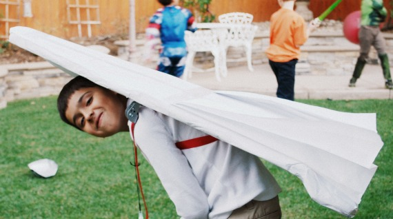 Paper Airplane costume