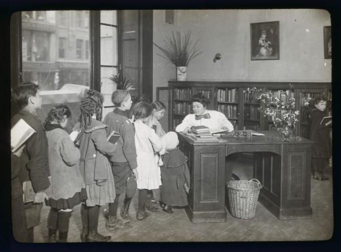 Vintage Children's Librarian